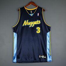 100% Authentic Allen Iverson Adidas Nuggets Jersey Size 48 XL 2XL Mens