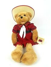 Vintage ©1971 Chantilly Lane Musicals Western Hat Bear Red Dress DOES NOT WORK