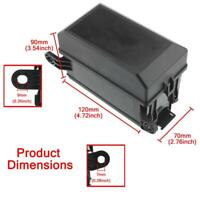 Universal DC 12V Car Marine 6-Way Relay+ 6-Slot Blade Fuse Holder Box Block T