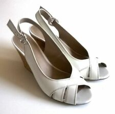 Marks and Spencer Women's 100% Leather Slingbacks Wedge Heels