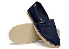 New Havaianas Premium Origine Relax iii Unisex Espadrilles Sandals Flat Blue UK5