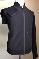 New $1195 Giorgio Armani Men Jacket Coat Black /Blue 40 US ( 50 Eu ) Italy