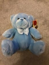 Keel*Teddy Bear Extremely Nearly New,It Has Baby On 1 Foot&Boy On Other Its Beau