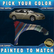 NEW Painted to Match - Passengers Right Fender for 2007-2012 Nissan Altima Sedan
