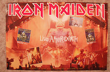 Iron Maiden 1985 Video Promo Poster Live After Death New Condition
