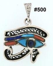 Hallmark Facsinatiog Egyptian Silver colorful (Eye of Horus)