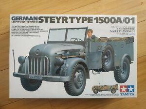 Maquette 1/35 Tamiya 35225 german Steyr type 1500A/01 neuve !