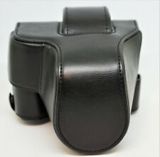 Canon EOS M50 - M5  Black Leather Case in Excellent Condition