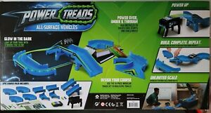 Full Throttle Pack Power Treads All Surface Toy Vehicles Modular Track Play Set