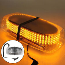 New 12V LED Amber Warning Strobe Recovery Car Flashing Magnetic Beacon Light UK