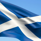 Scotland Saltire Flag 5x3ft - Support Scotland Euro 2020 - Fast Free Delivery!