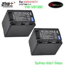 3.9A  Battery VW-VBT380 VW-VBT190 HC-WXF990 WXF999 V210 V250 V260 V270 V380 V520