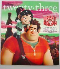 Disney Twenty Three D23 Magazine Winter 2012 * Wreck-It Ralph *