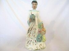 New Listing1950's Vintage Vilas Ceramic Asian Lady Statue