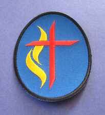 BRAND NEW SPIRIT OF THE CROSS RELIGIOUS CHRISTIAN BIKER IRON ON PATCH