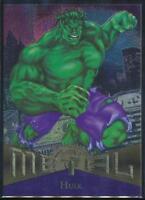 1995 Marvel Metal Trading Card #31 Hulk