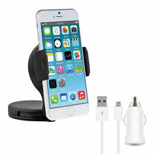 Kit Caricabatterie CAVO lightning iOs 11 +Supporto Auto parabrezza per iPhone 6S