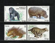 GUINEA ECUATORIAL. Año: 1983. Tema: FAUNA.