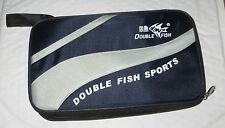 Double Fish Ping Pong paddle table tennis racket bat case/bag/cover,fit ball.USA