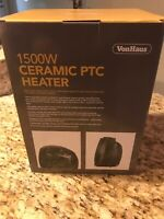 VonHaus 1500 Watt Ceramic PTC Heater