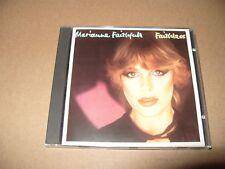 Marianne Faithfull Faithless 12 Track cd 1988 Excellent + condition