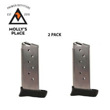 Sig Sauer MAG-938-9-7, P 938 Magazine 9mm Stainless Extended 7 Rounds 2 PACK