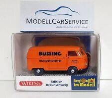 """Wiking Sondermodell 1/87: VW T1 (Typ 2) Kastenwagen """"Büssing Kundendienst"""""""