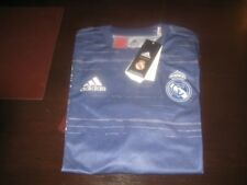 REAL MADRID  PRE MATCH TRAINING SHIRT XL BOYS 32/34 INCHES TAGS/PACKET