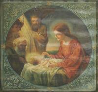 N5-109. TAPISSERIE. SCÈNE BIBLIQUE. HUILE SUR TAPISSERIE. SIGNÉ G. CASAS. 1927
