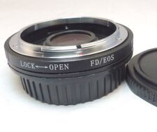 Canon FD Lens Mount to Canon EOS EF SLR Camera Adapter Ring T6i 60D 70D 80D T5i