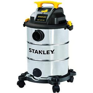 Stanley Stainless Steel 8 Gallon Wet Dry Floor Vacuum & Blower (Open Box)