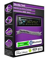 SKODA YETI DAB Radio , Pioneer CD stéréo lecteur USB, Kit Main Libre Bluetooth