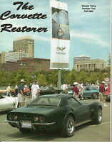 1973 Bowtie - The Corvette's Restorer Vol 30, # 2, Fall 2003 Hot Rod Magazine US