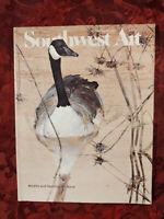 SOUTHWEST ART Magazine November 1983 Thomas Quinn Simon Combes David Maass