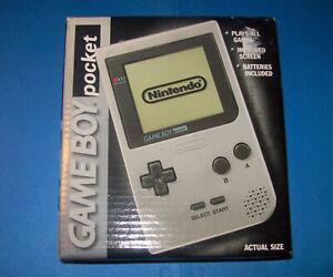 Nintendo Gameboy Pocket Silver New Factory Sealed