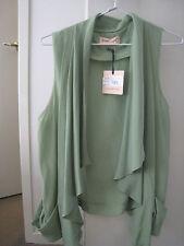 Apple green cute drapery silk best from Piper line size 8