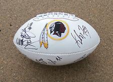 WASHINGTON REDSKINS TEAM Signed Autographed Football COA! PROOF! FLETCHER++