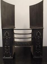 Fully Restored Original Antique Georgian Cast Iron Hob Grate Fireplace 27 1/2""