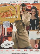 CHATUR SINGH TWO STAR - SANJAY DUTT - UMESHA PATEL - NEW BOLLYWOOD DVD