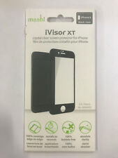 """Moshi iVisor XT Crystal Clear Black/white Screen Protector for iPhone 6 4.7"""" TM Black"""