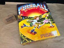 "Vintage Fireball Roller Skates ""Roller Derby"" kids size 1 blue/white/red + box"