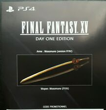 FINAL FANTASY XV PS4 DLC - Masamune Weapon (Game Pack) NOT FULL GAME