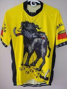 Men's XXL Cycling Jersey Full Zip Primal Wear Mad Dog