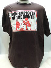 Non Employee of the Month Work Humor T-Shirt Funny Novelty Tee Shirt