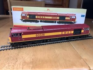 Hornby R2488 EWS Class 60 Diesel Loco 60026 with TTS Sound
