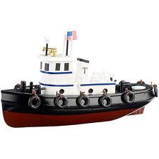 Schiffsbausatz: 70-teiliger Schiff-Bausatz Schlepper aus Holz (Modellbausatz)