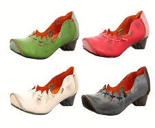 Damen Leder Schuhe Halbschuhe Slipper Pumps Gr 36 bis 42 Neu TMA 8787