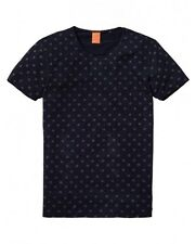 Scotch & Soda T-Shirt mit Rundhals 130840 night blue muscheln  S, M, XL  NEU