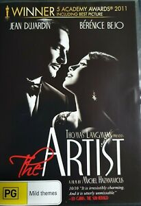 The Artist DVD (PAL, 2012) BRAND NEW & SEALED - FREE POST