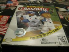 Backyard Baseball (Nintendo GameCube, 2003)